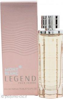 Mont Blanc Legend Pour Femme Eau de Parfum 75ml Spray
