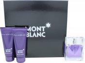 Mont Blanc Femme Confezione Regalo 75ml EDT + 100ml Lozione per il Corpo + 100ml Gel Doccia