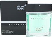 Mont Blanc Presence Eau de Toilette 50ml Spray