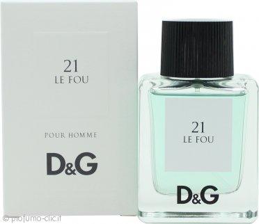 Dolce & Gabbana D&G 21 Le Fou Eau de Toilette 50ml Spray