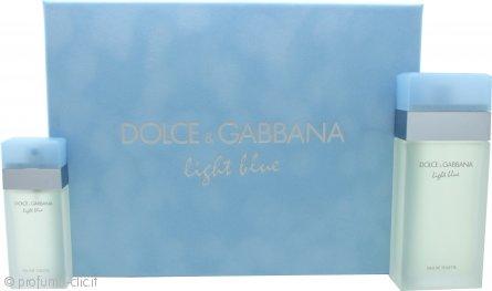 Dolce & Gabbana Light Blue Confezione Regalo 100ml EDT + 25ml EDT