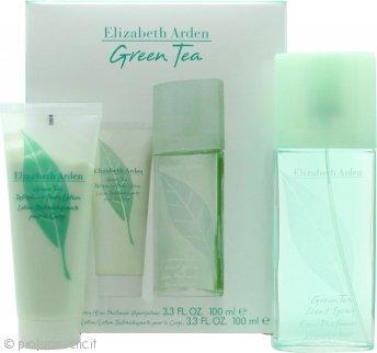 Elizabeth Arden Green Tea Confezione Regalo 100ml EDT + 100ml Lozione per il Corpo