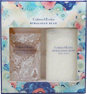 Crabtree & Evelyn Himalayan Blue Confezione Regalo 200ml Lozione Corpo + 200ml Bagnoschiuma & Gel Doccia