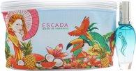 Escada Born In Paradise Confezione Regalo 30ml EDT Spray + Borsa