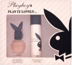 Playboy Play It Lovely Confezione Regalo 75ml Spray Corpo + 250ml Crema Doccia