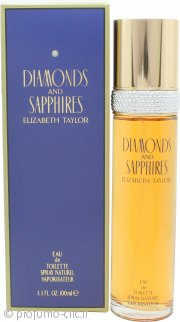 Elizabeth Taylor Diamonds & Sapphires Eau de Toilette 100ml Spray
