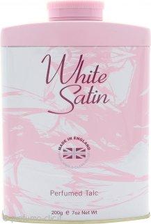 Taylor of London White Satin Talco Profumato 200g