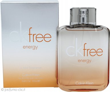 Calvin Klein Free Energy Eau de Toilette 50ml Spray