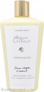Victorias Secret Lemon Escape Sparkling Lozione Corpo Lemon Sugar & Coconut 250ml