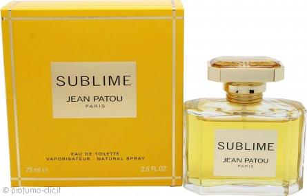 Jean Patou Sublime Eau de Toilette 75ml Spray