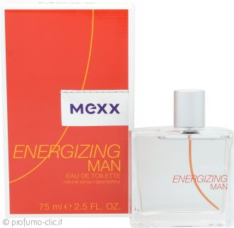 Mexx Energizing Man Eau de Toilette 75ml Spray