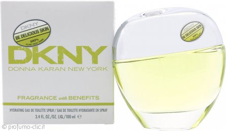 DKNY Be Delicious Skin Hydrating Eau de Toilette 100ml Spray