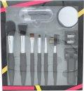 Active Cosmetics Prestige Luxe Brush Confezione Regalo 6 Pennelli + Specchio + Piegaciglia + 5 Applicatori + Temperamatite