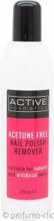 Active Nailcare System Senza Acetone Nail Polish Remover 250ml