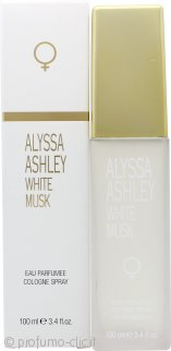 Alyssa Ashley White Musk Eau de Cologne 100ml Spray