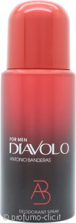 Antonio Banderas Diavolo For Men Deodorante 150ml Spray