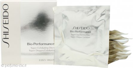 Shiseido Bio-Performance Super Exfoliating Dischi x 8