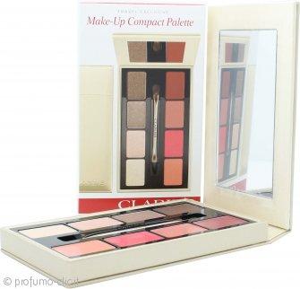 Clarins Make-Up Compact Palette 4 x Ombretti + 4 x Rossetti + 1 Applicatore