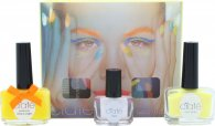 Ciaté Corrupted Neon Manicure Confezione Regalo 13.5ml Smalto Neon Orange + 10g Neon Glitter + 5ml Black Light Top Coat