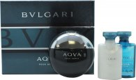 Bvlgari Aqva Pour Homme Confezione Regalo 50ml EDT + 40ml Balsamo Dopobarba + 40ml Shower Gel