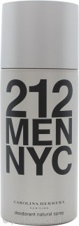 Carolina Herrera 212 Men Deodorante Spray 150ml