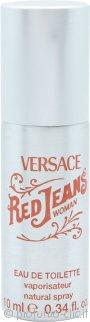 Versace Red Jeans Eau de Toilette 10ml Spray in Latta