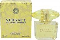 Versace Yellow Diamond Eau de Toilette 90ml Spray