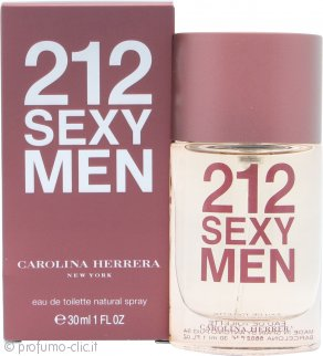 Carolina Herrera 212 Sexy Men Eau De Toilette 30ml Spray