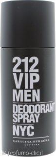 Carolina Herrera 212 VIP Men Deodorante Spray 150ml
