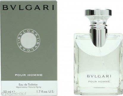 Bvlgari Pour Homme Eau de Toilette 50ml Spray