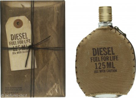 Diesel Fuel For Life Eau de Toilette 125ml Spray
