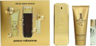 Paco Rabanne 1 Million Confezione Regalo 2 x 50ml EDT