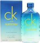 Calvin Klein CK One Summer 2015 Eau de Toilette 100ml Spray