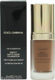 Dolce & Gabbana Perfect Matte Fondotinta Liquido 30ml - 180 Soft Sable