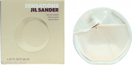 Jil Sander Sensations Eau de Toilette 40ml Spray