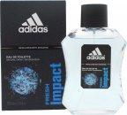 Adidas Adidas Fresh Impact Eau de Toilette 100ml Spray