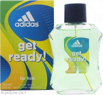 Adidas Get Ready! for Him Eau de Toilette 100ml Spray