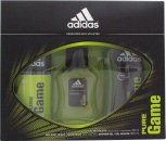 Adidas Pure Game Confezione Regalo 50ml EDT + 150ml Spray per il Corpo + 250ml Gel Doccia