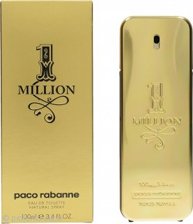 Paco Rabanne 1 Million Eau De Toilette 100ml Spray