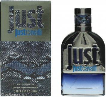 Roberto Cavalli Just Cavalli Man Eau de Toilette 30ml Spray
