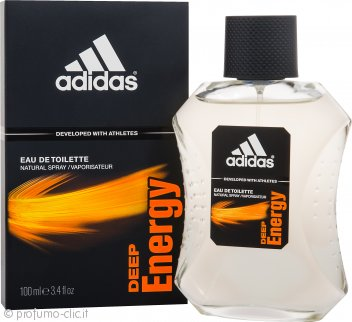 Adidas Deep Energy Eau de Toilette 100ml Spray