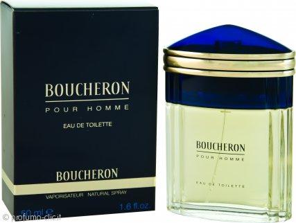 Boucheron Pour Homme Eau De Toilette 50ml Spray