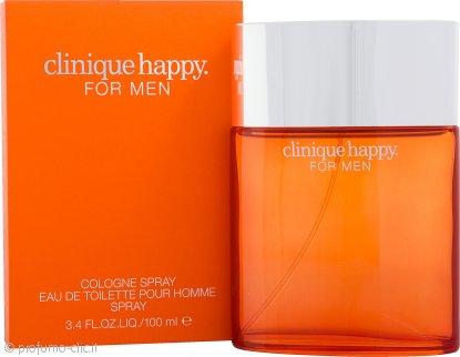 Clinique Happy Cologne Spray Eau de Toilette 100ml Spray