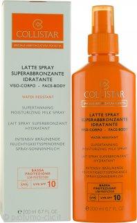 Collistar Speciale Abbronzatura Perfetta Latte Spray Superabbronzante Idratante 200ml SPF10