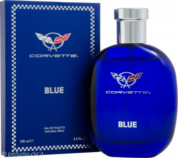 Corvette Blue Eau De Toilette 100ml Spray