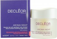 Decleor Aroma Night Rose D'Orient Soothing Night Balm (Pelli Sensibili & Reattive) 15ml