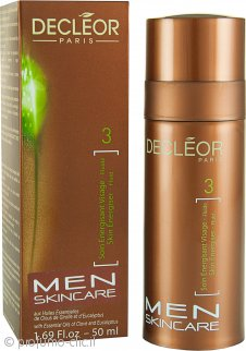 Decleor Men Essentials Skin Energiser Fluid Crema Anti-Rughe 50ml