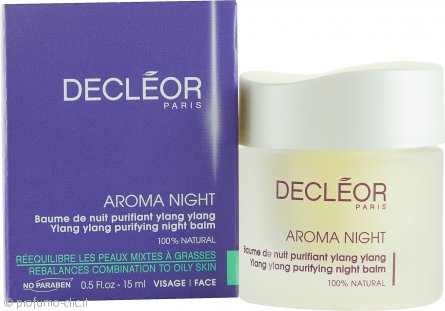 Decleor Aroma Night Ylang Ylang Purifying Night Balm (Pelle Grassa & Mista) 15ml