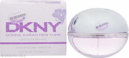 DKNY Be Delicious City Blossom Urban Violet Eau de Toilette 50ml Spray