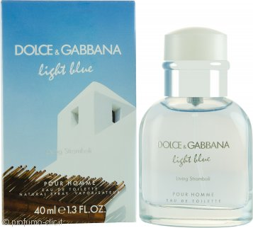 Dolce & Gabbana Light Blue Living Stromboli Eau de Toilette 40ml Spray